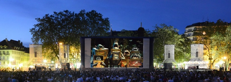 Le festival international du film d'animation à Annecy