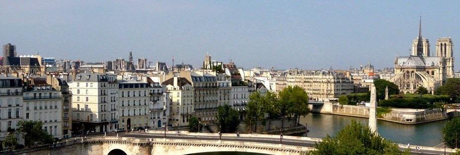 Une belle vue sur Paris