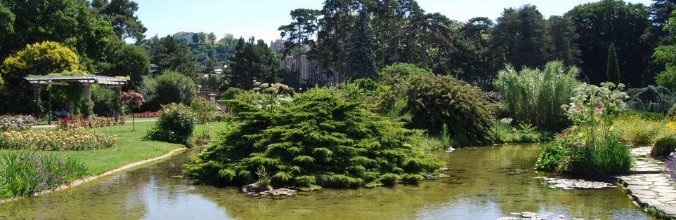 Un coin du Parc de la Tête d'Or à Lyon