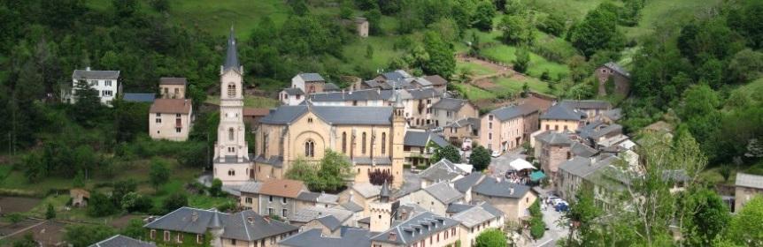 le village de Saint-Sever-du-Moustier