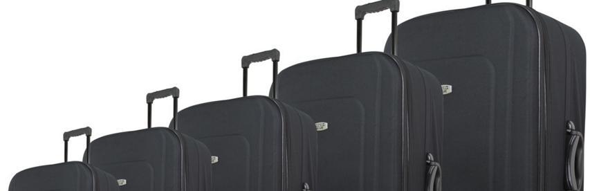 Les différentes tailles de valises rigides