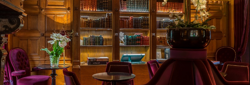 Bar de la Maison Souquet, boutique-hôtel à Paris