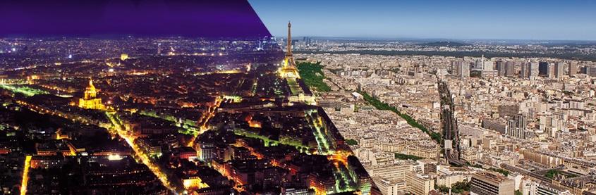 Vue sur la ville de Paris depuis la tour Montparnasse