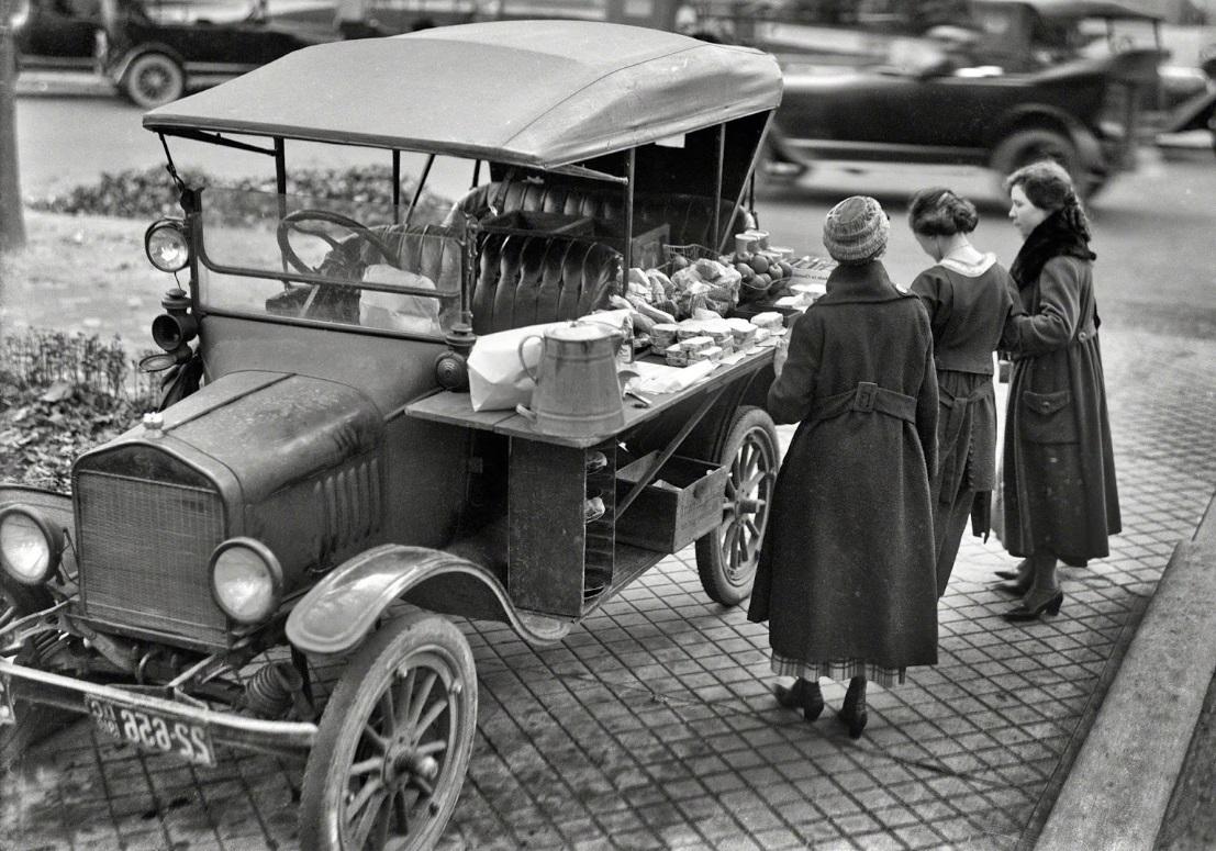 Histoire du food truck