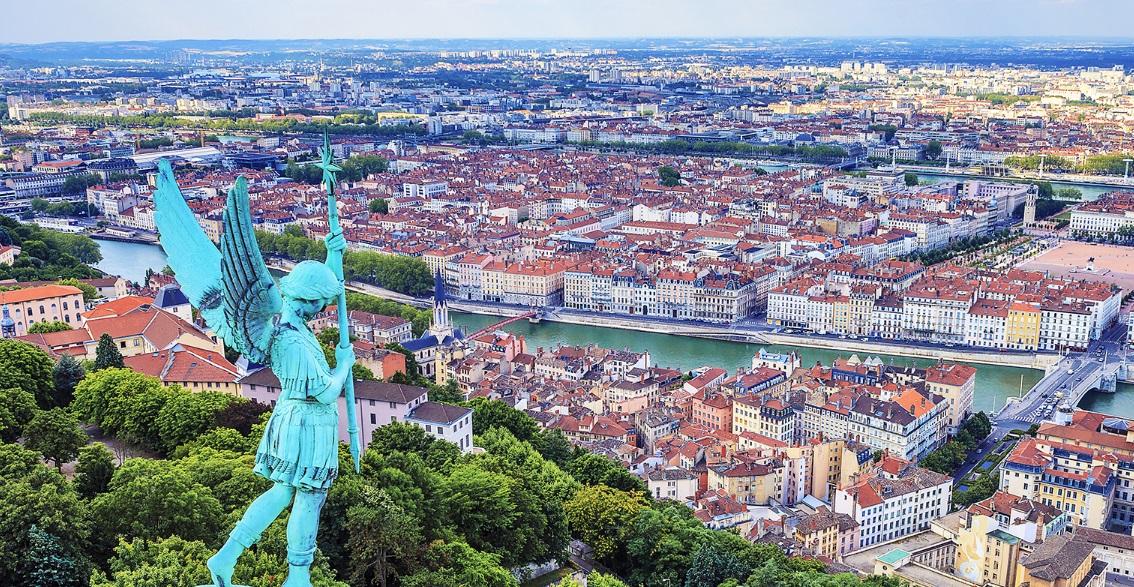 Lyon vu du haut