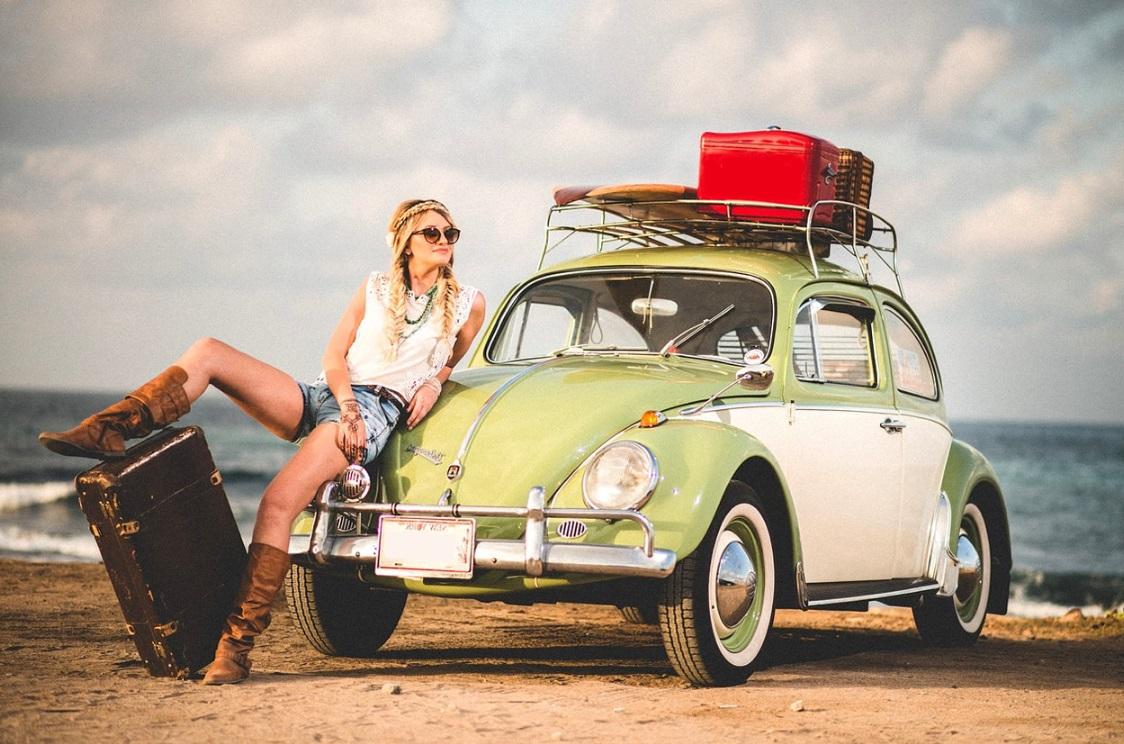 Voiture de hippie