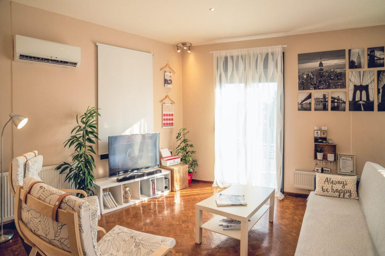 photo intérieur appartement à réserver sur airbnb